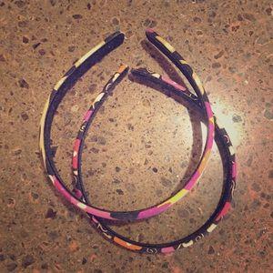 2 Vera Bradley Headbands